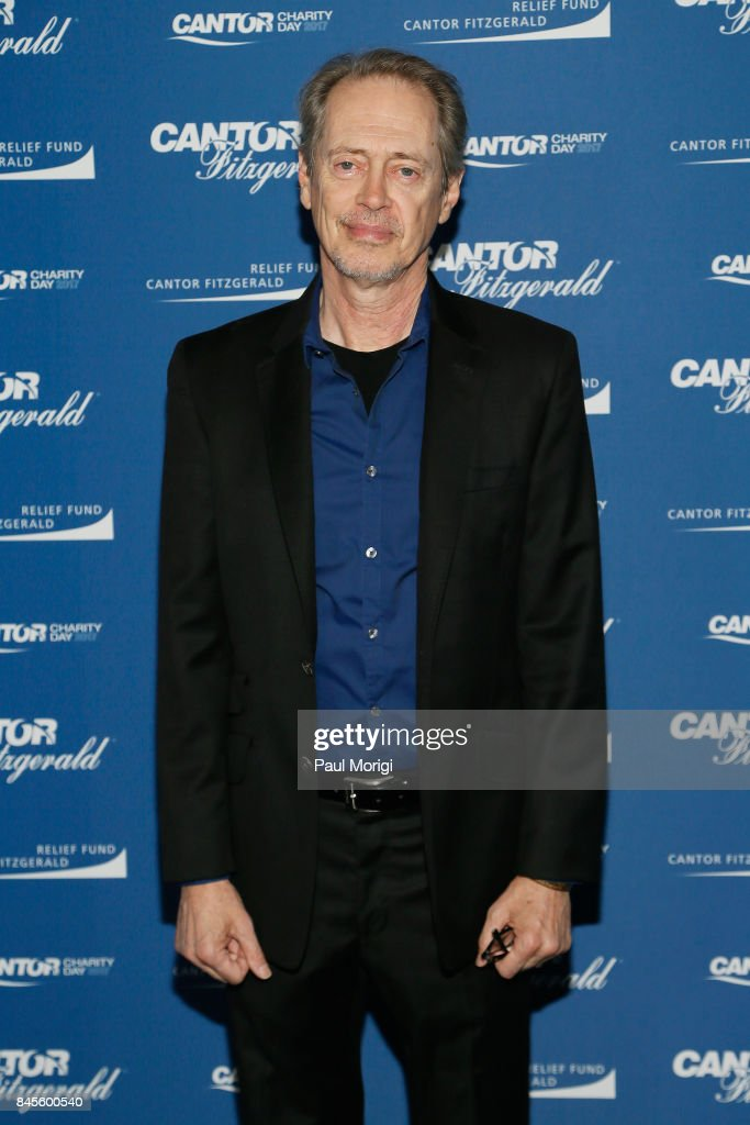 Steve Buscemi attends Annual Charity Day hosted by Cantor Fitzgerald, BGC and GFI at Cantor Fitzgerald on September 11, 2017 in New York City.