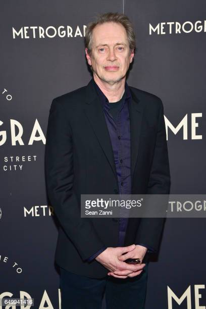 Steve Buscemi attends Metrograph 1st Anniversary party at Metrograph on March 8 2017 in New York City