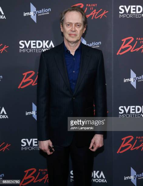 Steve Buscemi attends 'Paint It Black' New York premiere at the Museum of Modern Art on May 15 2017 in New York City