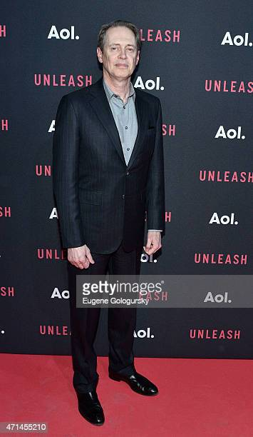 Steve Buscemi attends the AOL Newfronts 2015 at 4 World Trade Center on April 28 2015 in New York City