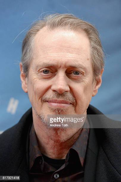 Steve Buscemi attends the 'Bright Star' opening night on Broadway on March 24 2016 in New York City