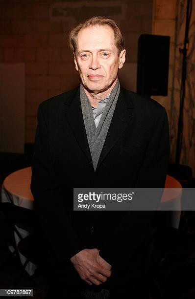 Steve Buscemi attends the E Sharp @ 60 Benefit Concert Celebrating Elliot Sharp's 60th Birthday at the ISSUE Project Room on March 4 2011 in the...