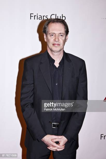 Steve Buscemi attends THE NEW YORK FRIARS CLUB ROAST OF QUENTIN TARANTINO at Friars Club on December 1 2010 in New York City
