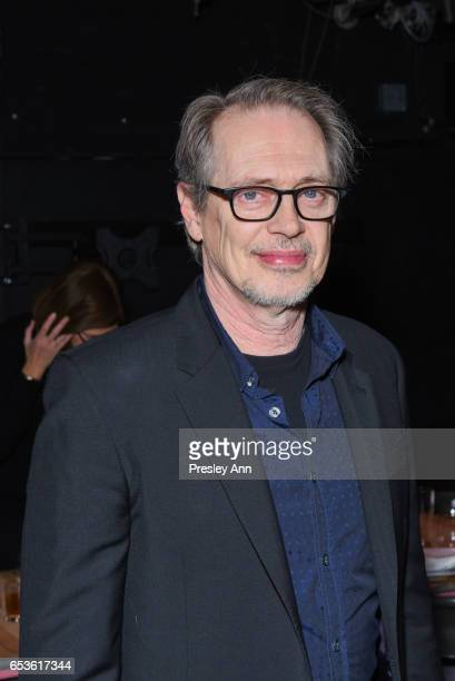 Steve Buscemi attends The Wooster Group's 2017 Benefit Hosted by Maura Tierney on March 15 2017 in New York City