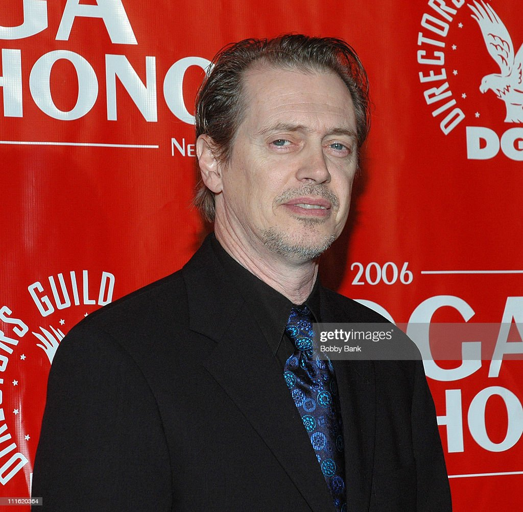 Steve Buscemi during Directors Guild of America Honors David Chase - Arrivals - October 12, 2006 at DGA Building in New York City, New York, United States.