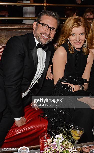Steve Carell and Rene Russo attend The Weinstein Company Entertainment Film Distributor StudioCanal 2015 BAFTA After Party in partnership with Jimmy...