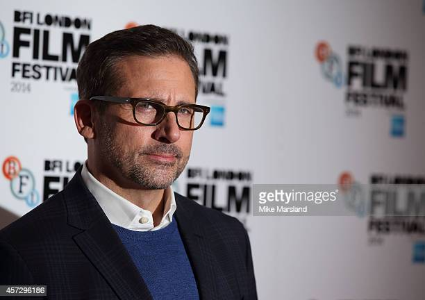 Steve Carell attends a photocall for 'Foxcatcher' during the 58th BFI London Film Festival at Corinthia Hotel London on October 16 2014 in London...