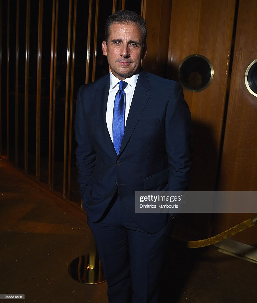 <a gi-track='captionPersonalityLinkClicked' href=/galleries/search?phrase=Steve+Carell&family=editorial&specificpeople=595491 ng-click='$event.stopPropagation()'>Steve Carell</a> attends the after party for Sony Pictures Classics screening of 'Foxcatcher' hosted by Details, Brooks Brothers & Patron with The Cinema Society at The Standard Highline on November 11, 2014 in New York City.