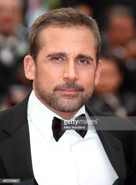 Steve Carell attends the 'Foxcatcher' Premiere at the 67th Annual Cannes Film Festival on May 19 2014 in Cannes France