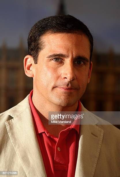 Steve Carell attends the 'Get Smart' photocall at Claridges on July 10 2008 in London England