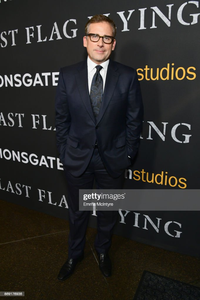 Steve Carell attends the premiere of Amazon's 'Last Flag Flying' at DGA Theater on November 1, 2017 in Los Angeles, California.