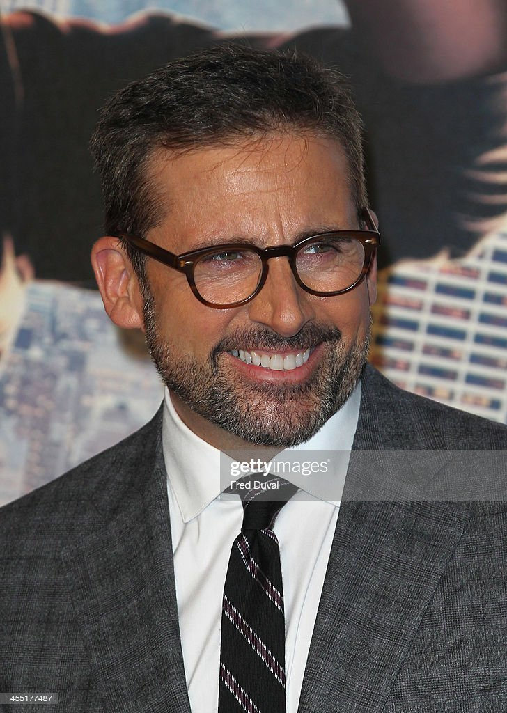 <a gi-track='captionPersonalityLinkClicked' href=/galleries/search?phrase=Steve+Carell&family=editorial&specificpeople=595491 ng-click='$event.stopPropagation()'>Steve Carell</a> attends the UK film premiere of 'Anchorman 2: The Legend Continues' at Vue West End on December 11, 2013 in London, England.