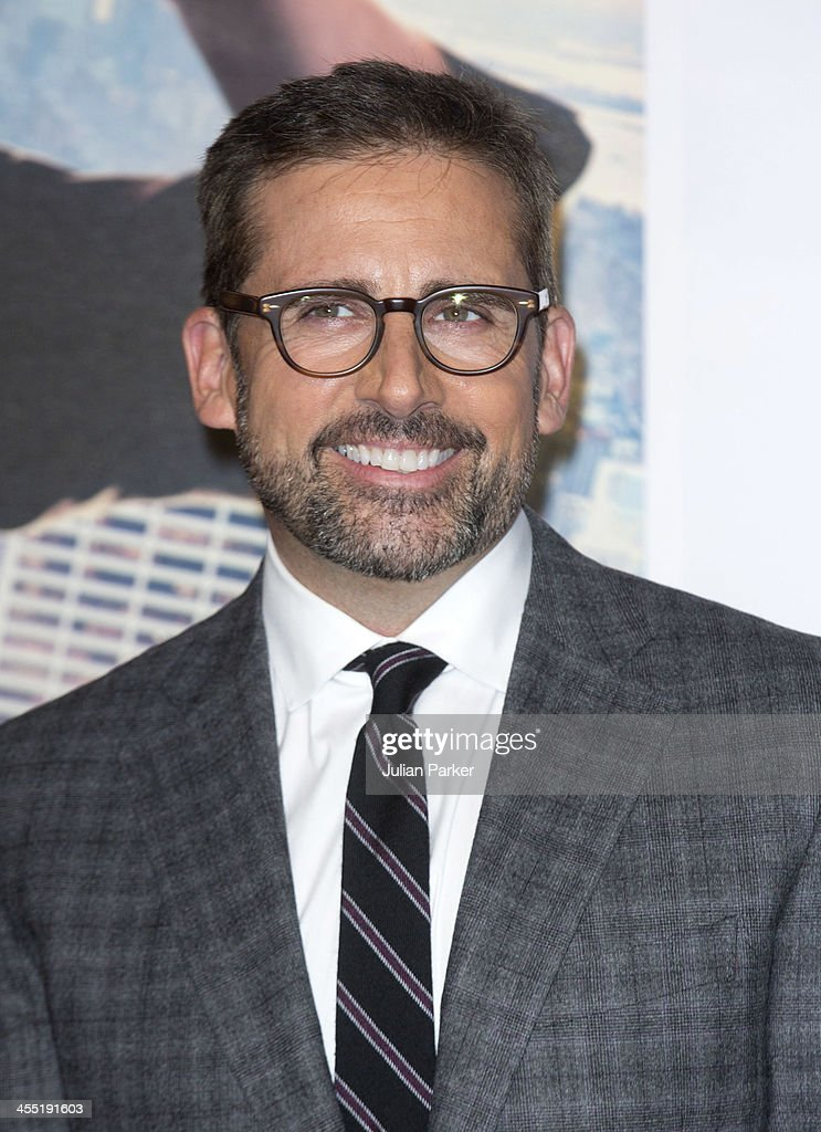 <a gi-track='captionPersonalityLinkClicked' href=/galleries/search?phrase=Steve+Carell&family=editorial&specificpeople=595491 ng-click='$event.stopPropagation()'>Steve Carell</a> attends the UK premiere of 'Anchorman 2: The Legend Continues' at Vue West End on December 11, 2013 in London, England.