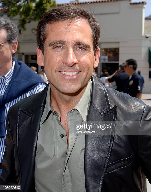 Steve Carell during DreamWorks' 'Over The Hedge' Los Angeles Premiere Red Carpet at Mann Village Theater in Westwood California United States
