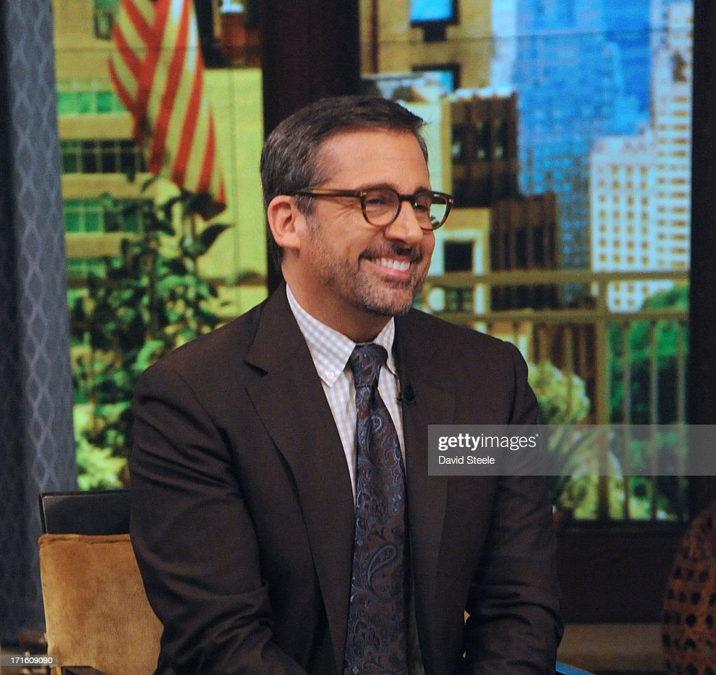 MICHAEL -6/26/13 - Steve Carell is a guest on 'LIVE with Kelly and Michael,' distributed by Disney-ABC Domestic Television. CARELL