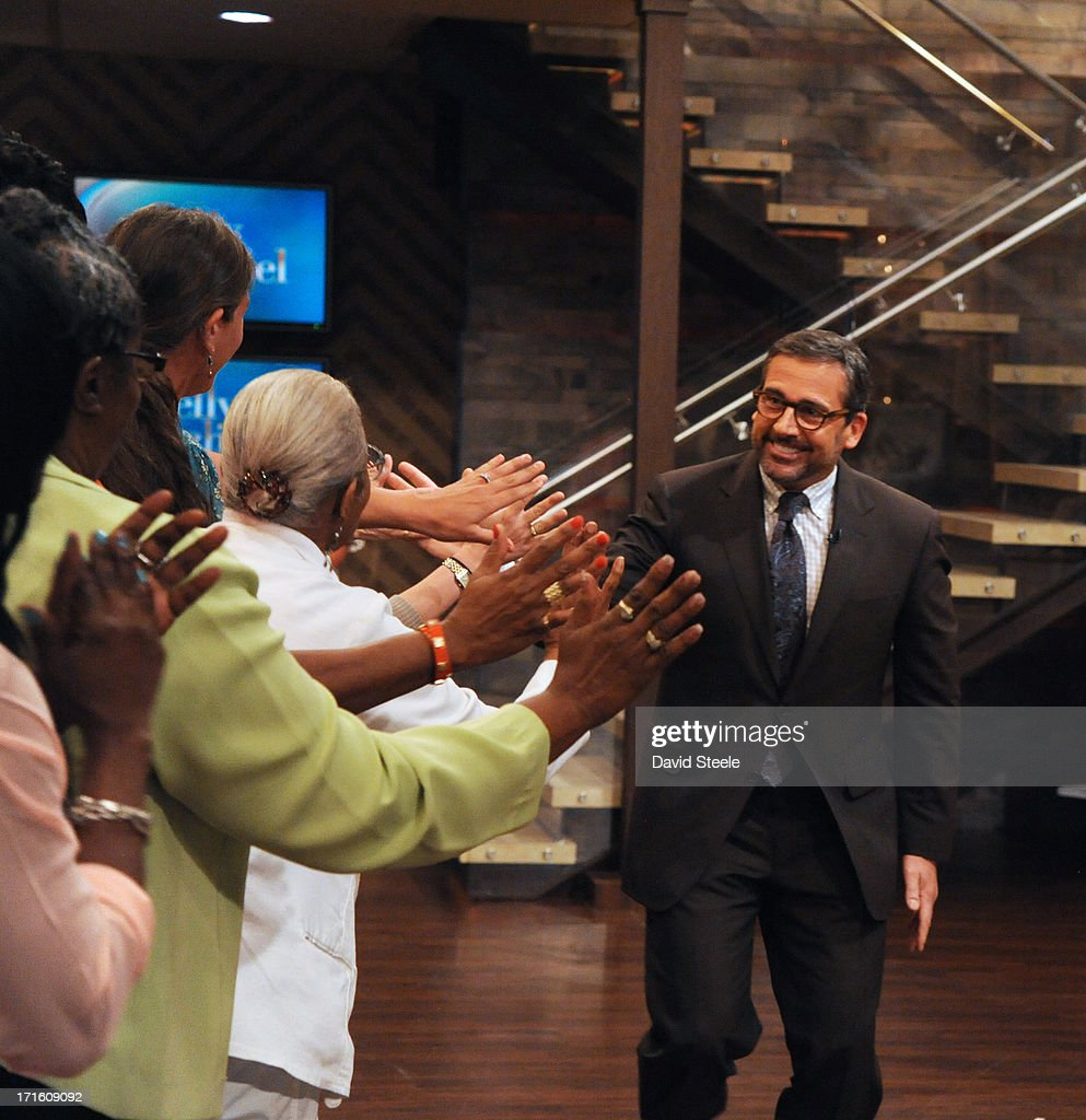 MICHAEL -6/26/13 - Steve Carell is a guest on 'LIVE with Kelly and Michael,' distributed by Disney-ABC Domestic Television. STEVE