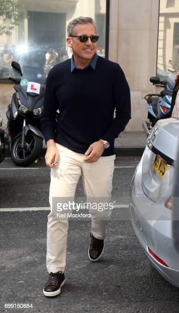 Steve Carell seen at BBC Radio 2 on June 21 2017 in London England