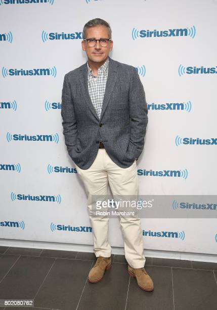 Steve Carell visits at SiriusXM Studios on June 27 2017 in New York City