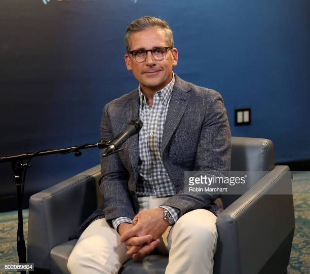 Steve Carell visits Entertainment Weekly Radio at SiriusXM Studios on June 27 2017 in New York City