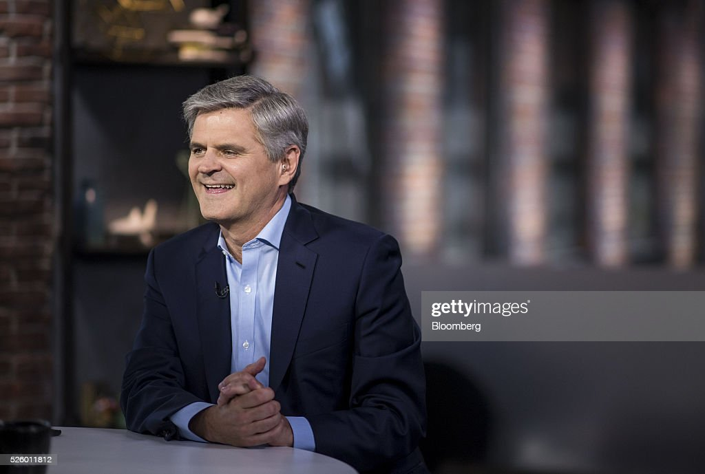 <a gi-track='captionPersonalityLinkClicked' href=/galleries/search?phrase=Steve+Case&family=editorial&specificpeople=214603 ng-click='$event.stopPropagation()'>Steve Case</a>, chairman and chief executive officer of Revolution LLC, smiles during a Bloomberg West television interview in San Francisco, California, U.S., on Wednesday, April 27, 2016. Case discussed the 'third wave' of the Internet, the future of Internet disruptors and tech's relationship with government. Photographer: David Paul Morris/Bloomberg via Getty Images