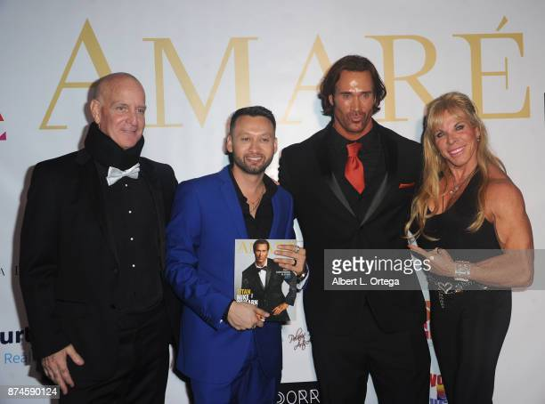 Steve Cederquist George Rojas Mike O'Hearn and Lauren Powers attend Amare Magazine Presents A Black Tie Event featuring cover model Mike O'Hearn held...