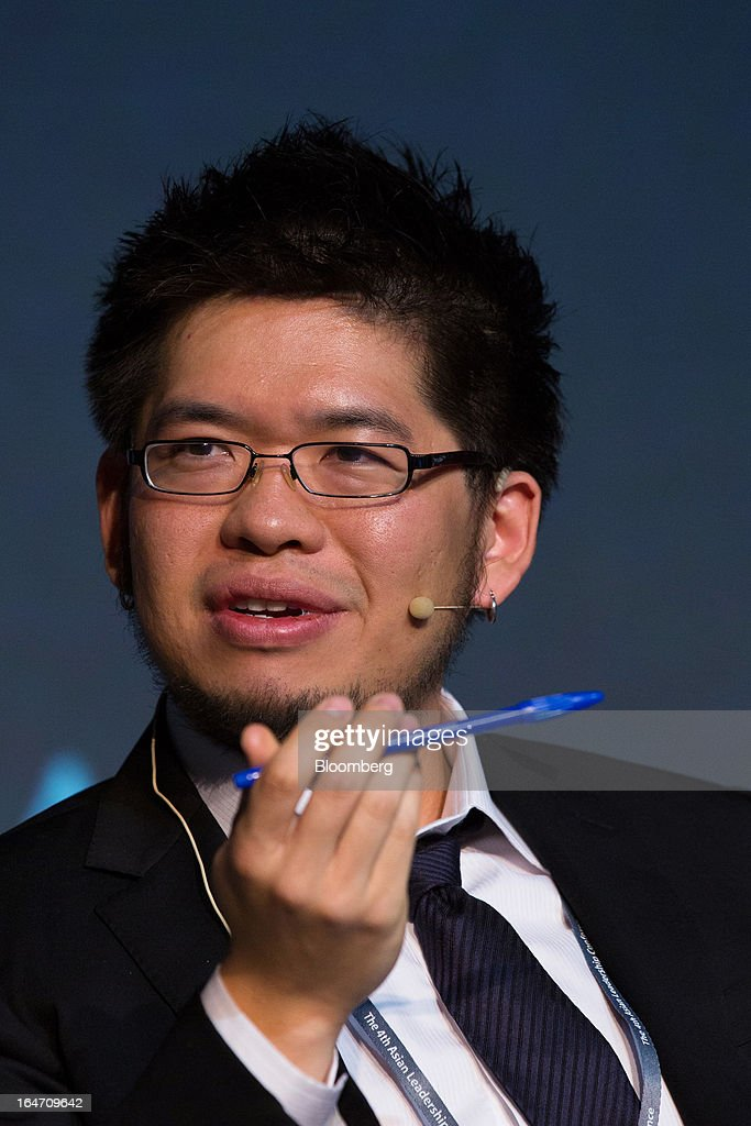 <a gi-track='captionPersonalityLinkClicked' href=/galleries/search?phrase=Steve+Chen+-+Internet+Entrepreneur&family=editorial&specificpeople=1114922 ng-click='$event.stopPropagation()'>Steve Chen</a>, co-founder of YouTube Inc., speaks at the Asian Leadership Conference in Seoul, South Korea, on Wednesday, March 27, 2013. The conference concludes today. Photographer: SeongJoon Cho/Bloomberg via Getty Images