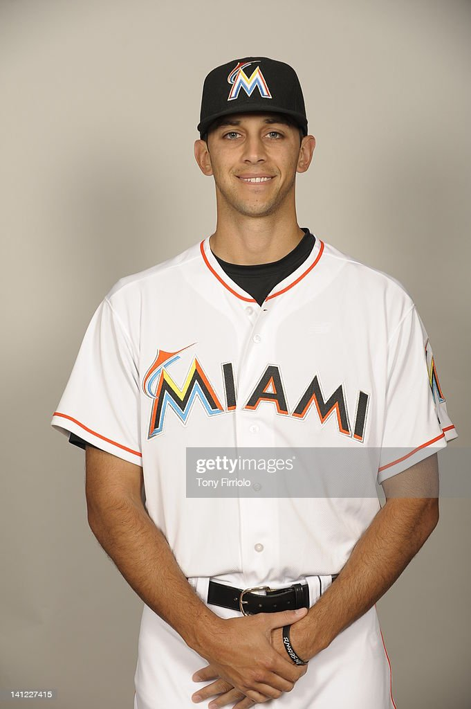 <a gi-track='captionPersonalityLinkClicked' href=/galleries/search?phrase=Steve+Cishek&family=editorial&specificpeople=7542919 ng-click='$event.stopPropagation()'>Steve Cishek</a> (31) of the Miami Marlins poses during Photo Day on Monday, February 27, 2012 at Roger Dean Stadium in Jupiter, Florida.