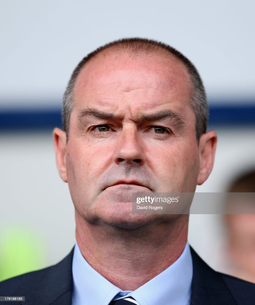 Steve Clarke, the West Bromwich manager looks on during the Barclays Premier League match between West Bromwich Albion and Swansea City at The Hawthorns on September 01, 2013 in West Bromwich, England.