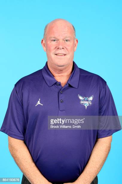 Steve Clifford of the Charlotte Hornets poses for a head shot during media day at Spectrum Center in Charlotte North Carolina NOTE TO USER User...