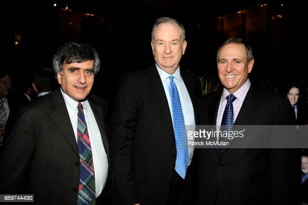 Steve Cohn Bill O'Reilly and Walter Anderson attend PARADE MAGAZINE and SI Newhouse Jr honor Walter Anderson at The 4 Seasons Grill Room on March 31...