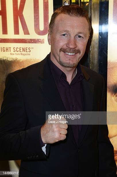 Steve Collins attends the UK premiere of Klitschko at The Empire Leicester Square on May 21 2012 in London England