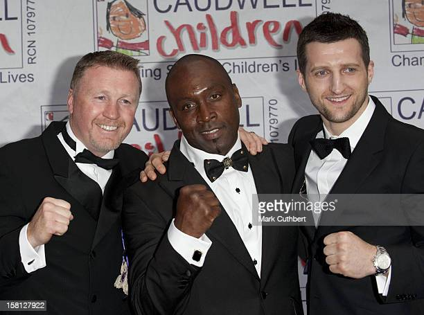 Steve Collins Nigel Benn And Carl Froch Arrive At The Caudwell Children Butterfly Ball At Battersea Evolution London