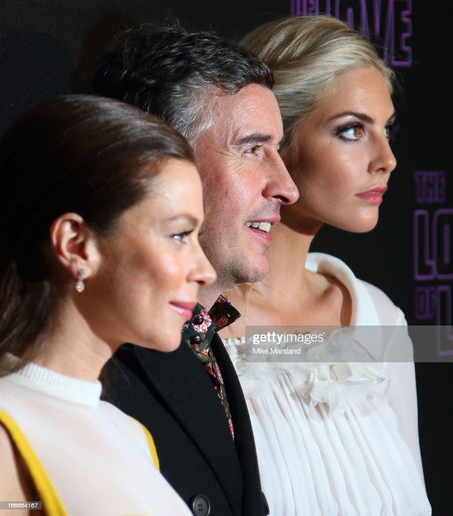 Steve Coogan, Anna Friel and Tamsin Egerton attend 'The Look Of Love' UK premiere at Curzon Soho on April 15, 2013 in London, England.