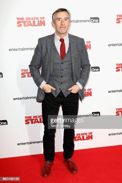 Steve Coogan arriving at 'The Death Of Stalin' UK Premiere held at Curzon Chelsea on October 17 2017 in London England