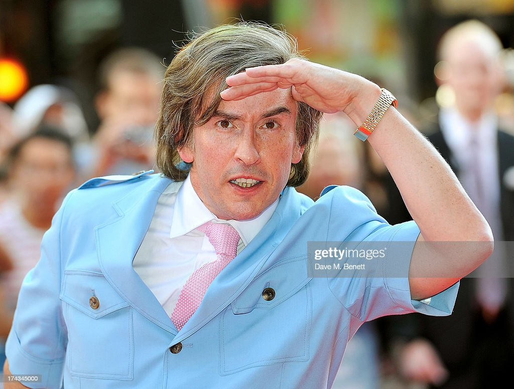 <a gi-track='captionPersonalityLinkClicked' href=/galleries/search?phrase=Steve+Coogan&family=editorial&specificpeople=204648 ng-click='$event.stopPropagation()'>Steve Coogan</a> as Alan Partridge attends the London Premiere of 'Alan Partidge: Alpha Papa' at Vue Leicester Square on July 24, 2013 in London, England.