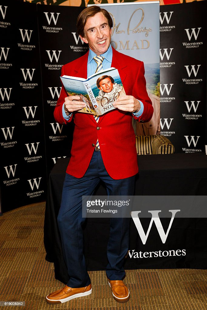Steve Coogan As Alan Partridge - Book Signing