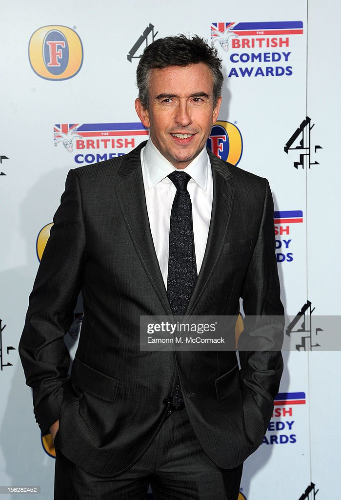 Steve Coogan attends the British Comedy Awards at Fountain Studios on December 12, 2012 in London, England.