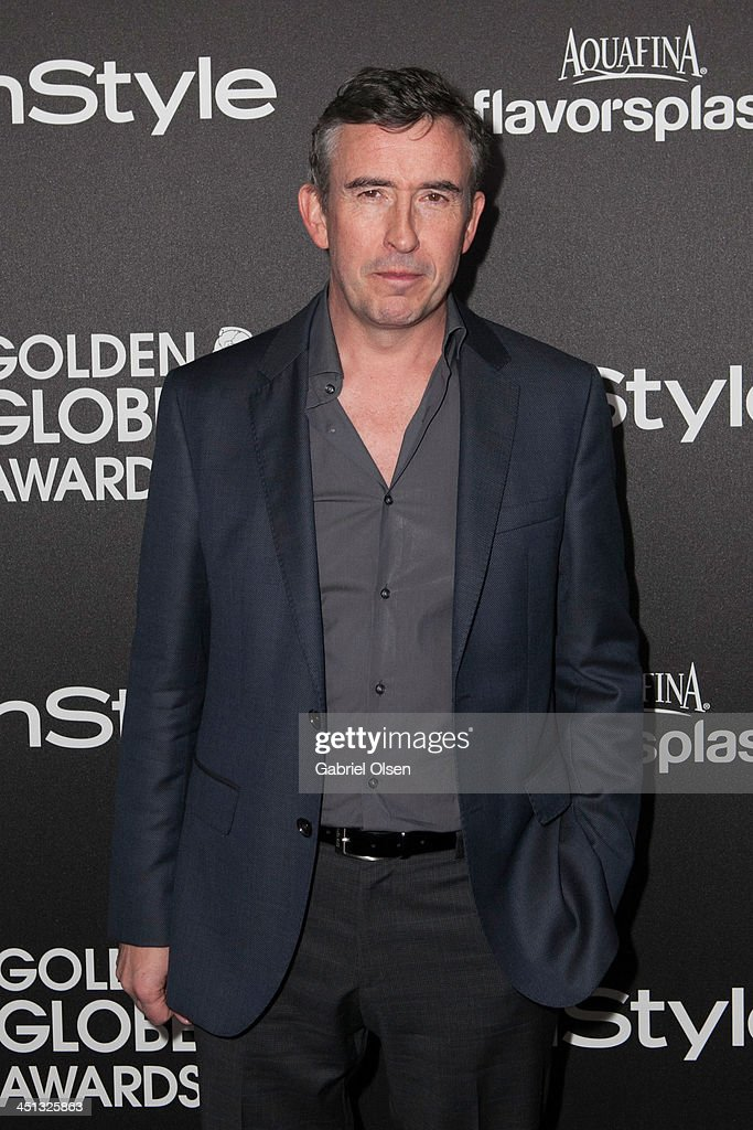 Steve Coogan attends The Hollywood Foreign Press Association (HFPA) And InStyle Celebrates The 2014 Golden Globe Awards Season at Fig & Olive Melrose Place on November 21, 2013 in West Hollywood, California.
