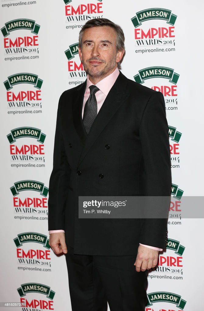 <a gi-track='captionPersonalityLinkClicked' href=/galleries/search?phrase=Steve+Coogan&family=editorial&specificpeople=204648 ng-click='$event.stopPropagation()'>Steve Coogan</a> attends the Jameson Empire Awards 2014 at the Grosvenor House Hotel on March 30, 2014 in London, England. Regarded as a relaxed end to the awards show season, the Jameson Empire Awards celebrate the film industry's success stories of the year with winners being voted for entirely by members of the public. Visit empireonline.com/awards2014 for more information.