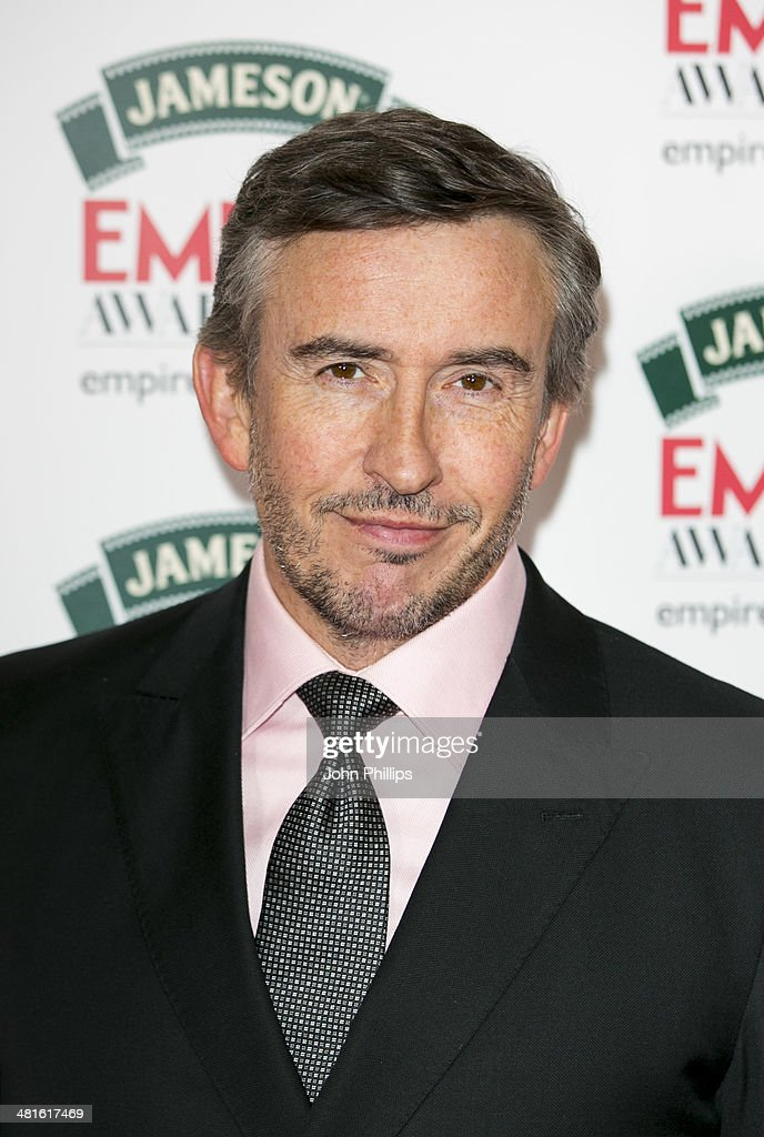 Steve Coogan attends the Jameson Empire Film Awards at The Grosvenor House Hotel on March 30, 2014 in London, England.