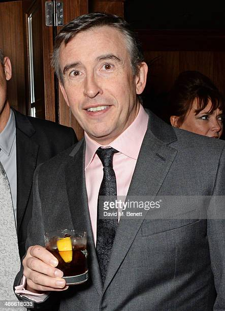 Steve Coogan attends the London Critics' Circle Film Awards after party at Novikov on February 2 2014 in London England