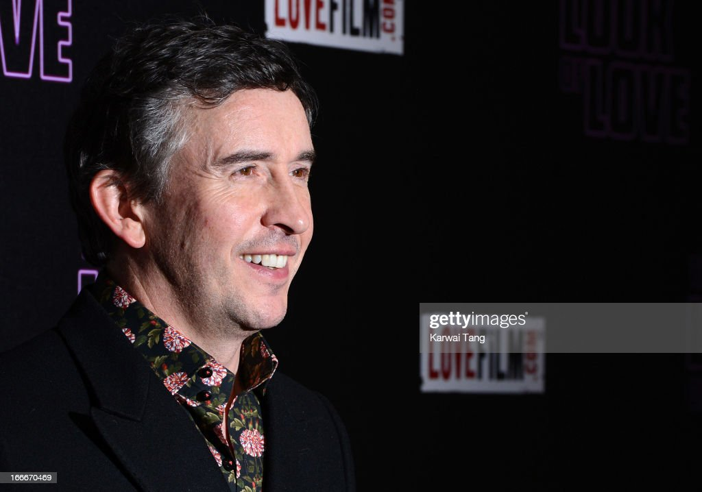 Steve Coogan attends 'The Look Of Love' UK premiere at Curzon Soho on April 15 2013 in London England