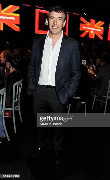 Steve Coogan attends the Moet Reception at the Moet British Independent Film Awards 2013 at Old Billingsgate Market on December 8 2013 in London...