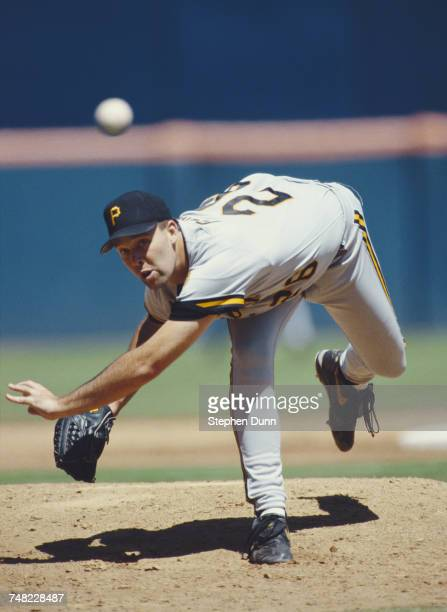 Steve Cooke pitcher for the Pittsburgh Pirates throws a pitch during the Major League Baseball National League West game against the San Diego Padres...