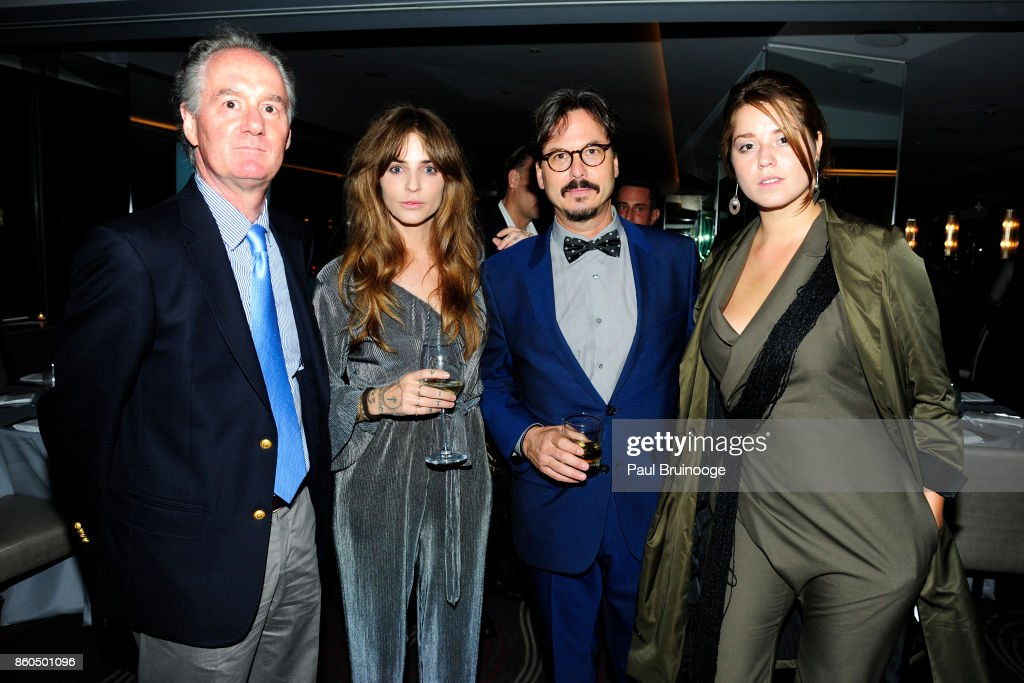 Steve Cope, Nina Roescheisen, Marc Dennis and Zaria Borisova attend the Decoration and Design Building celebrates the 2017 winners of the DDB's 10th Anniversary of Stars of Design Awards at D&D Building on October 11, 2017 in New York City.