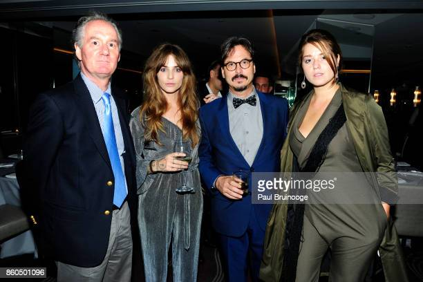 Steve Cope Nina Roescheisen Marc Dennis and Zaria Borisova attend the Decoration and Design Building celebrates the 2017 winners of the DDB's 10th...