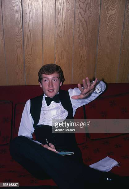 Steve Davis of England at the Fiesta Club in 1981 in Stockton