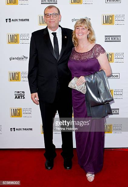 Steve Dayan attends the 3rd annual Location Managers Guild International Awards at The Alex Theatre on April 23 2016 in Glendale California