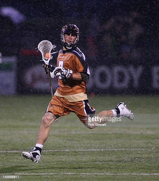 Steve DeNapoli of the Rochester Rattlersplays against the Boston Cannons at Sahlen's Stadium on June 1 2012 in Rochester New York