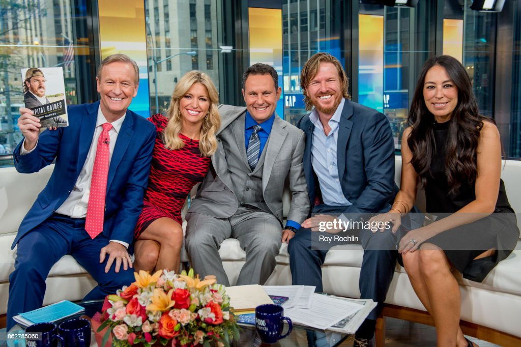 "Chip And Joanna Gaines Visit ""Fox & Friends"""